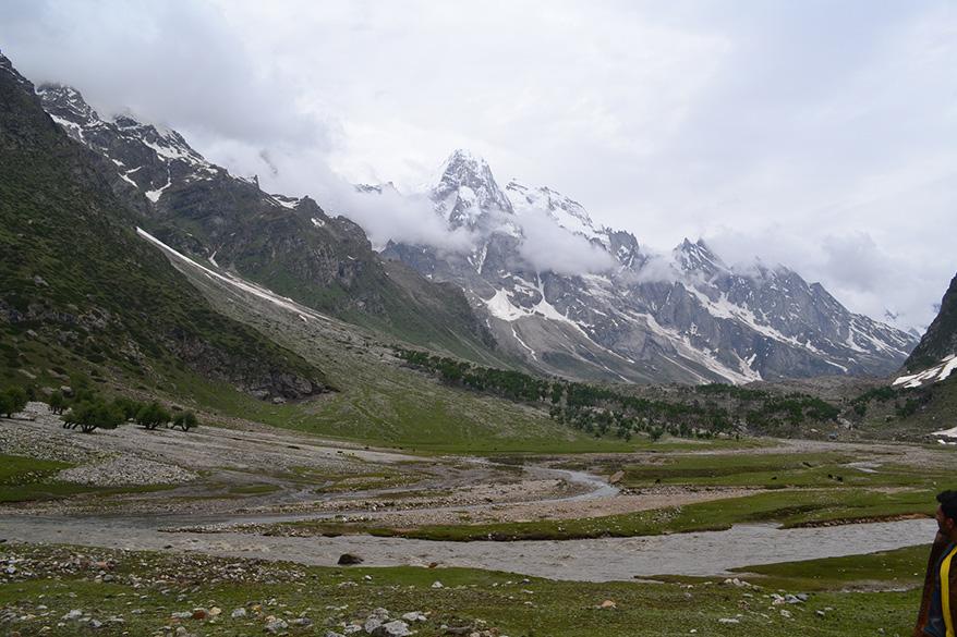 Scenic beauty on enroute to Brahma peak.
