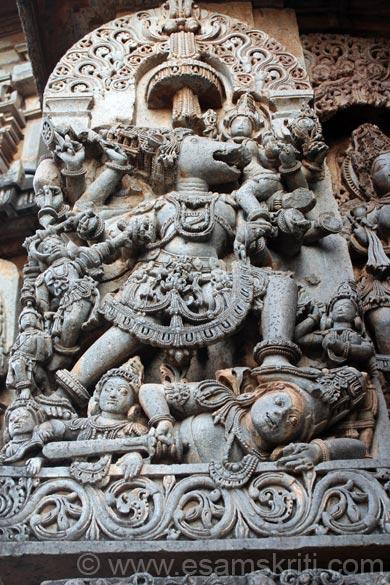 U see Varaha or Boar avatar of Lord Vishnu.