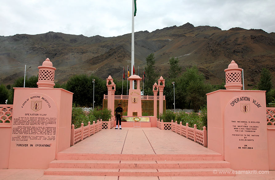 A saga of supreme sacrifice - Operation Vijay. In May 1999 56 Mountain Brigade was inducted to clear the Pakis who had occupied strategic heights of Tiger Hill, Point 4875 and Maskoh Valley.