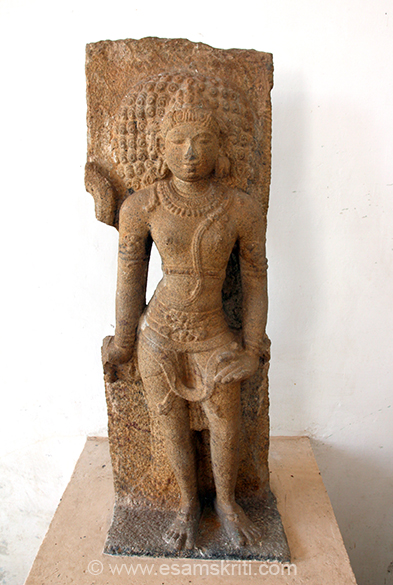 """Virabhadra (Siva in heroic stance) Provenance: Senthalai Period: Late Chola 11th Century CE ."""