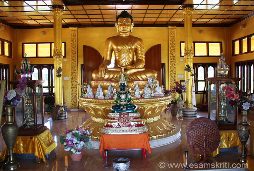 "Image of Buddha. Front green image reminds me of a similar image I had seen at Emerald Buddha in Bangkok. To see pics <a href = ""http://www.esamskriti.com/around-world/Emerald-Buddha-Temple.aspx"" target = ""_blank"" > Click here </a>"
