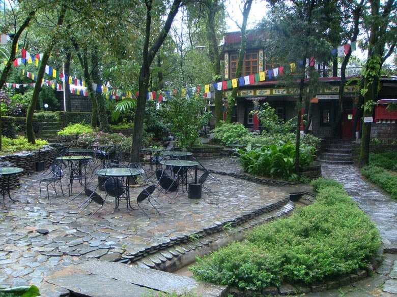 The charming Norbulingka monastery in Dharamshala. Near by drives are Kangra Fort, Jwalamukhi, Dal Lake.