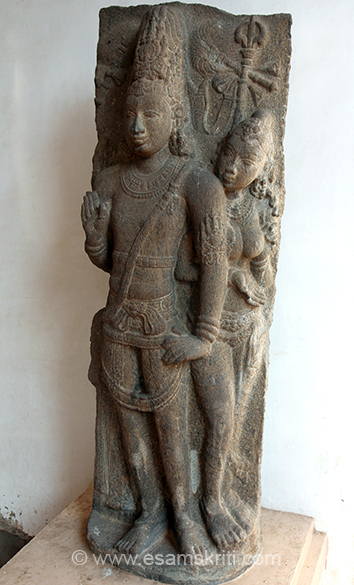 """Siva and Parvathy Provenance: Tiruvalanjuli Period: Early Chola 9th Century CE."""