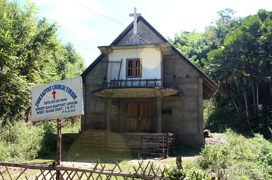"From Along to Dapurojio this church was on the road in the midst of nowhere, forest area. Link to Zion Baptist Church site <a href=""http://www.zionbaptist-md.org/about-us/index.html"" target=""_blank""> Click here </a>"