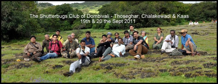 A pic of the Shutterbug Club of Dombivali (near Mumbai) of which Prasad is a member.
