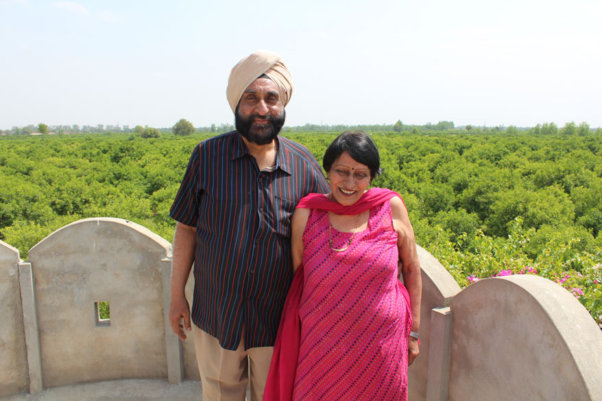 Pic of my Mama``s classmate Dr T S Grewal and his wife Kantaji. Dr Grewal and Nana``s home shared a common wall. The families know each other for over 70 years. I remember meeting him as a child but felt as if we 
