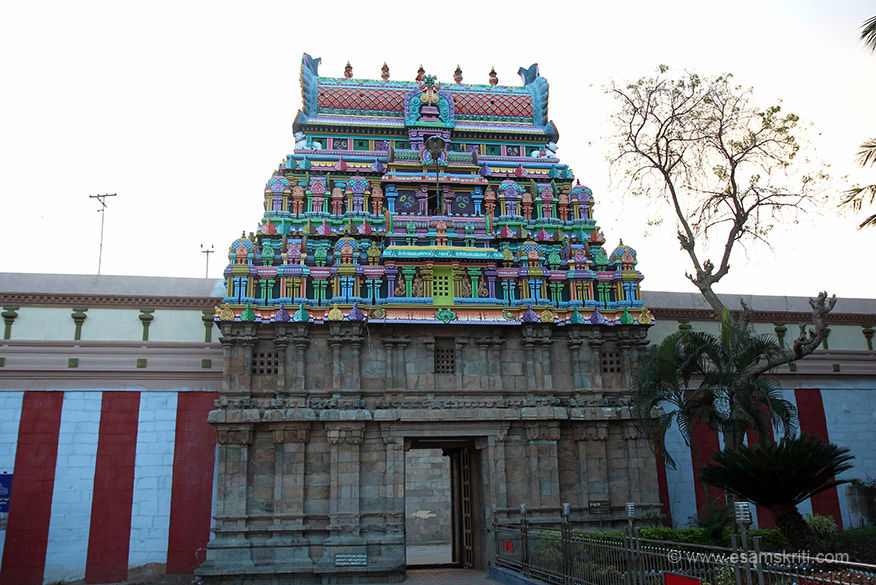 Many praharams (temple wall). First was external wall next to gopuram. U see gopuram and wall two. As we crossed gopuram we came across wall 3. We turned left to see some more gopurams, see next pic. Temple is 45 kms from Thanjavur and close to Kumbakonam.