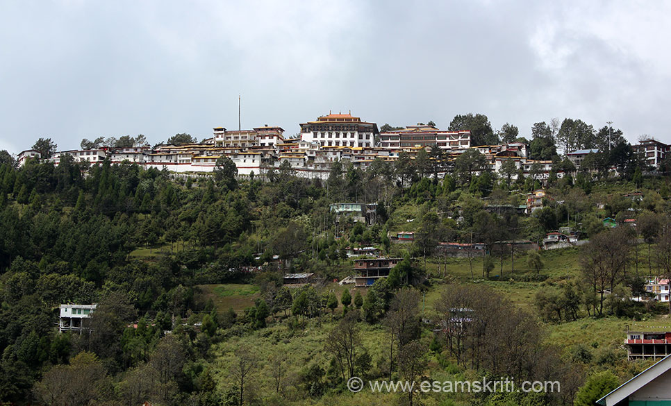 A view of the Tawang Monastery taken from the base of the hill where is situated the lovely craft centre. Also visit Taktsang Monastery i.e. 45 kms from Tawang known as Tiger``s Den. Guru Padmasambhava is supposed to have visited there in the 8th century.