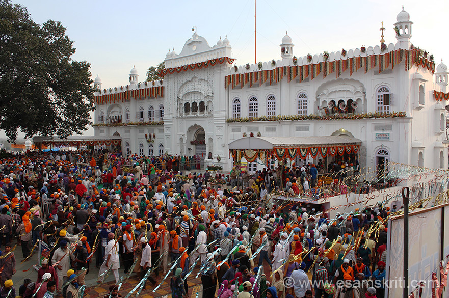 "In this collection showing a few pics of Hola Mohalla celebrations. U see the historic Shri Kesgarh Sahib Gurudwara on Hola Mohalla day 18th March 2014. It was here that KHALSA was founded by Guru Gobind Singhji. Anandpur Sahib was founded in 1665 by 9th Guru, Guru Tegh Bahadur. To know about Kesgarh Sahib <a href=""http://www.sikhtourism.com/anandpur-sahib.htm"" target=""_blank""> Click here </a>"