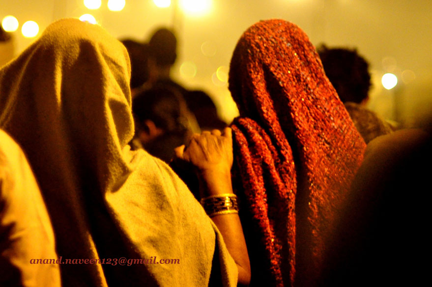 Assurance!! When lakhs of people assemble at one place it is a hand of assurance that helps one walk through the crowds. I call it mutual interdependence. I saw a number of old ladies, perhaps