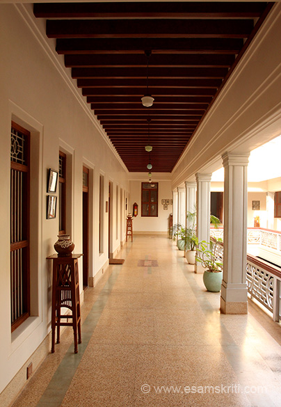 Corridor on first floor.