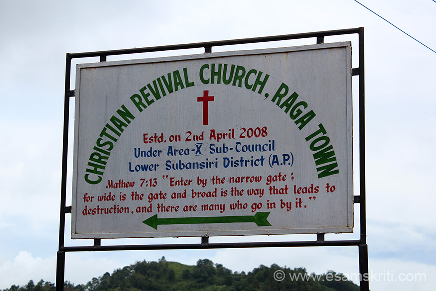 "Maximum presence was of Christian Revival Church. ``CRC Vision is Building one church in many locations, Mission To establish Christian morals and values amongst others ``.To know more <a href=""http://www.crc.org.za/"" target=""_blank""> Click here </a>"