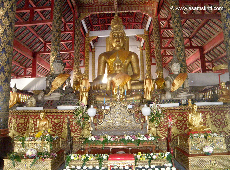 500 year old Buddha image. This section covers all the Wats and visit to Wat Doi Suthep.