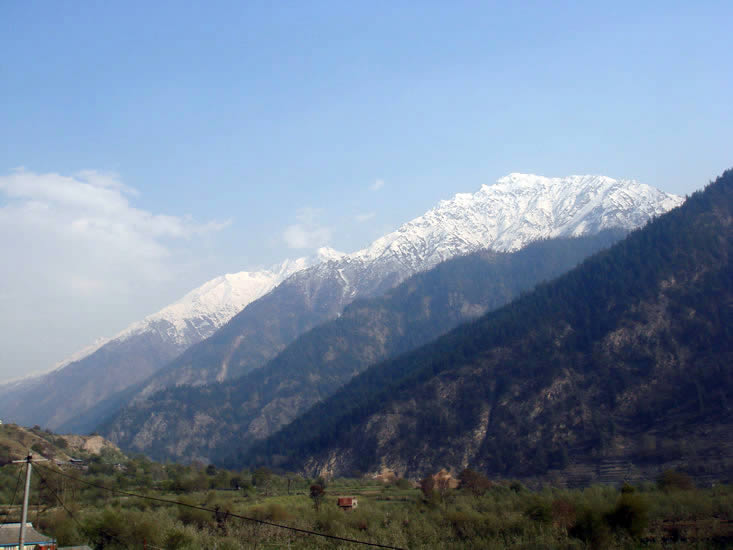 View enroute to Sangla - from Rampur on NH 22