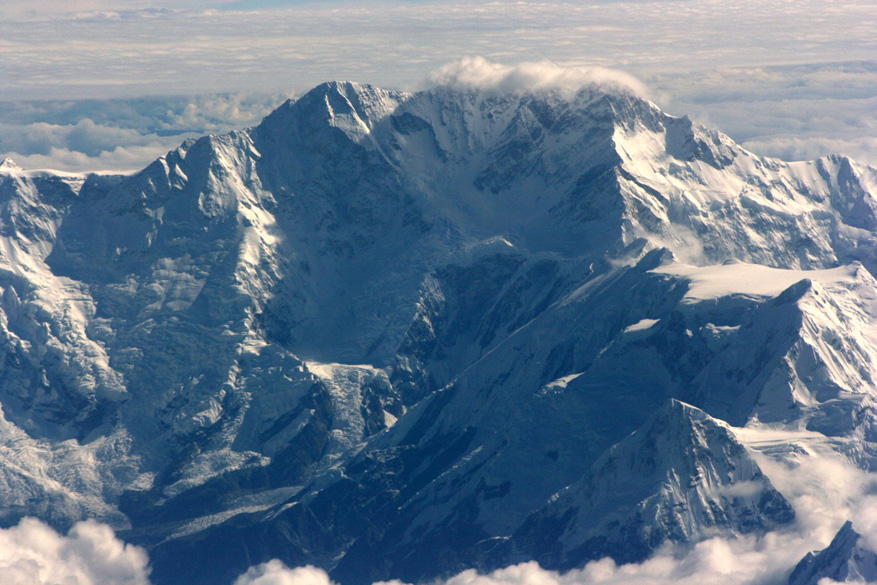 This is not a famous mountain, at least the pilot didn``t mention