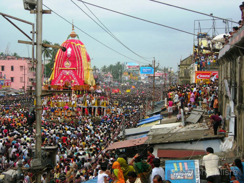 The Jagannath Ratha Yatra led to the coinage of the English term ``Juggeranut``, which refers to an unstoppable force. This picture gives you an idea why.
