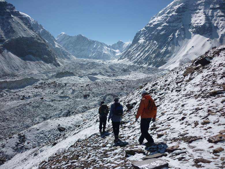 Sveta Glacier 5520 mtres