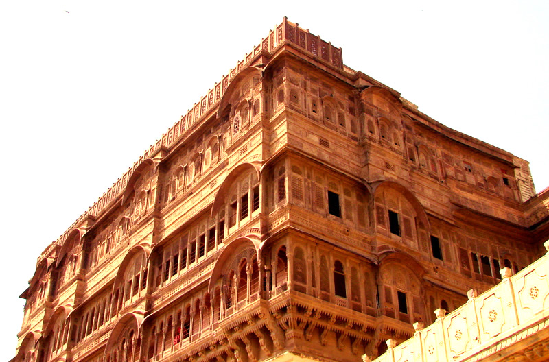 Mehrangarh``, from Sanskrit translates to the ``Sun Fort``. The Sun has been a symbol of the Rajputs for many centuries across Rajasthan.