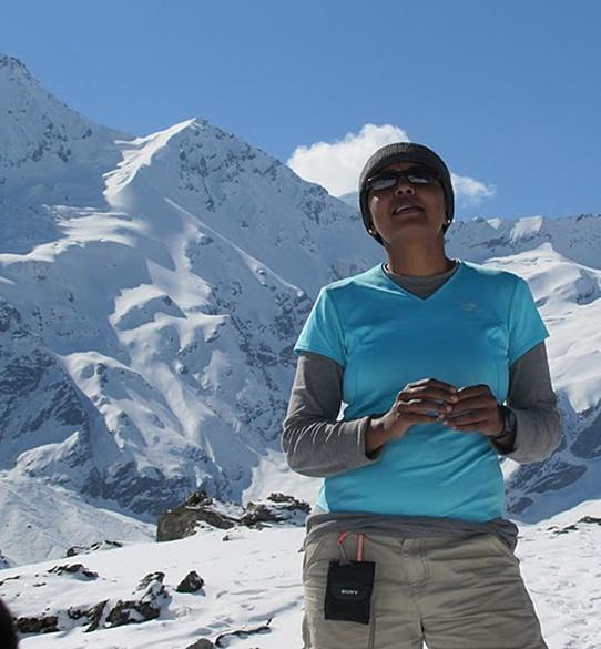 Pindari, Kafni glacier