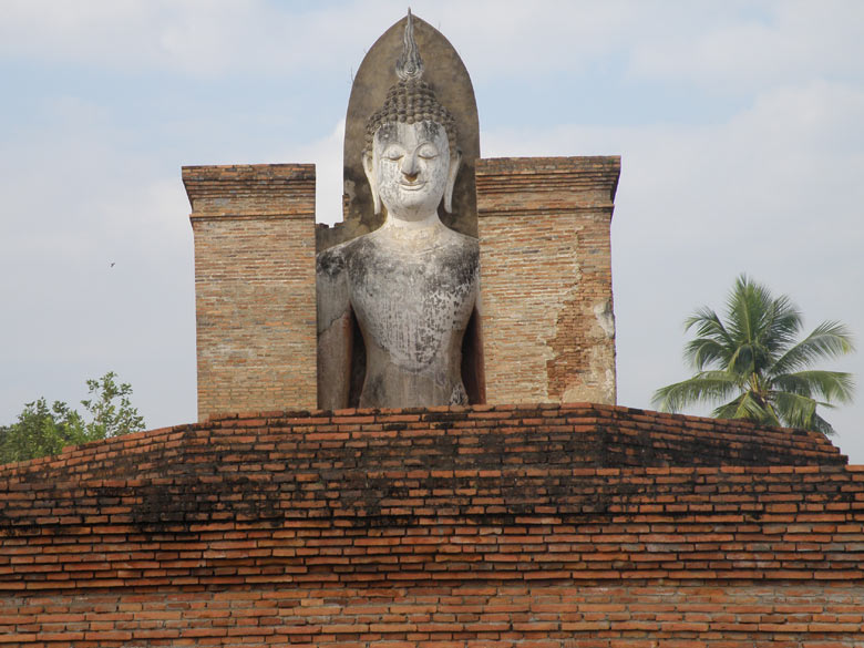 Image of the same Buddha only top portion. Looks splendid. There is a Museum outside the historical park. Did not visit but am told it is nice.