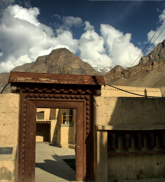 The entrance of Tabo Monastery