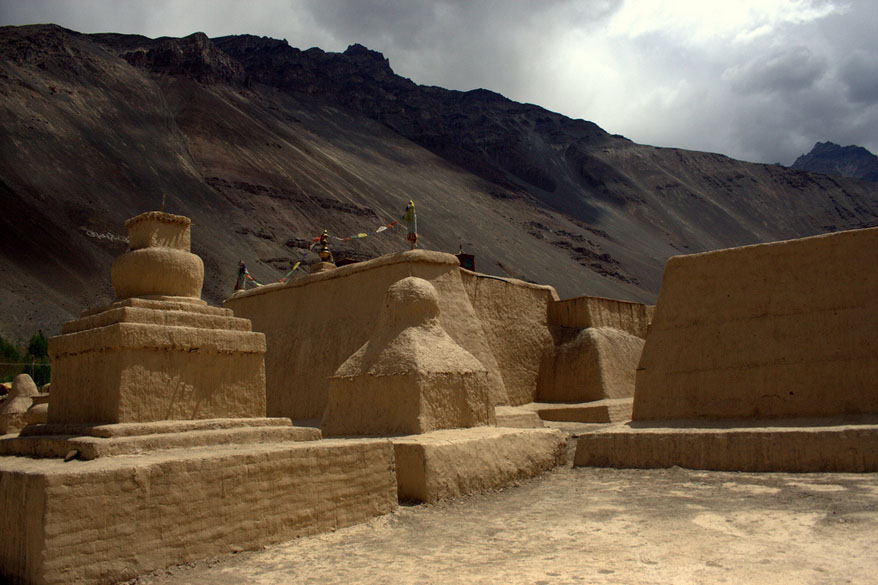 A section of the Tabo Monastery