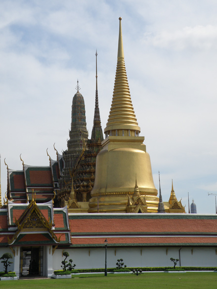 Bangkok has got some amazing Wats. You see picture of Wat Phra Kaew or Temple of Emerald Buddha. It is regarded as the most important Buddhist temple in Thailand. It is part of the Grand Palace. You can see more pictures on a separate link in Thailand collection only.