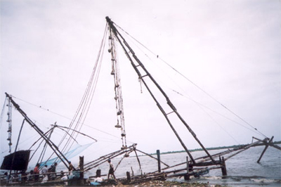 Chinese Fishing nets at Cochin