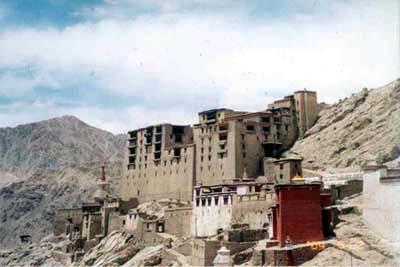 Leh Palace.