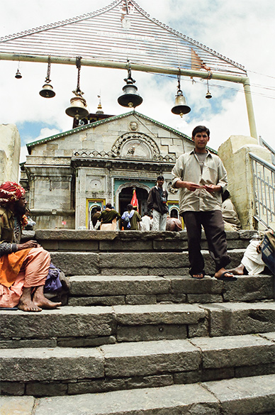 Entrance to the Kedarnath Temple. Kedarnath is divine, spend atleast a day in the there and enjoy its surroundings.
