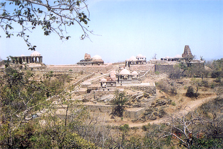 When you turn right at fort entrance you first see Vedi & Shivji ka mandir. If you take a left and walk another 10-15 minutes you see the Golrao group of nine temples ie what you see in this picture. In number of cases Mandapas are either broken or left incomplete as you can see temple on the right of the picture. You can also visit the  Kumbalgarh Wild Life Sanctuary. During the monsoons tourists come in large numbers, it is very green and you get see clouds moving close to you remember the palace name Badal Mahal.