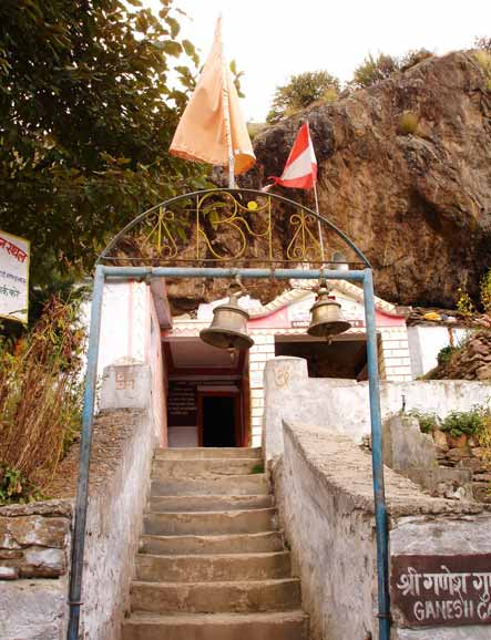 What you see is Lord Ganesh Gufa (cave). Here it is believed that Ganesh took dictation of the Mahabharata from the Guru of all times Veda Vyasa. Also, visit Mana village, 6kms away from Badrinath. It is the last village before the Tibetan border.