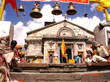 Close up to the temple. Do visit the Shankaracharya Samadhi ie close to the Kedarnath mandir.