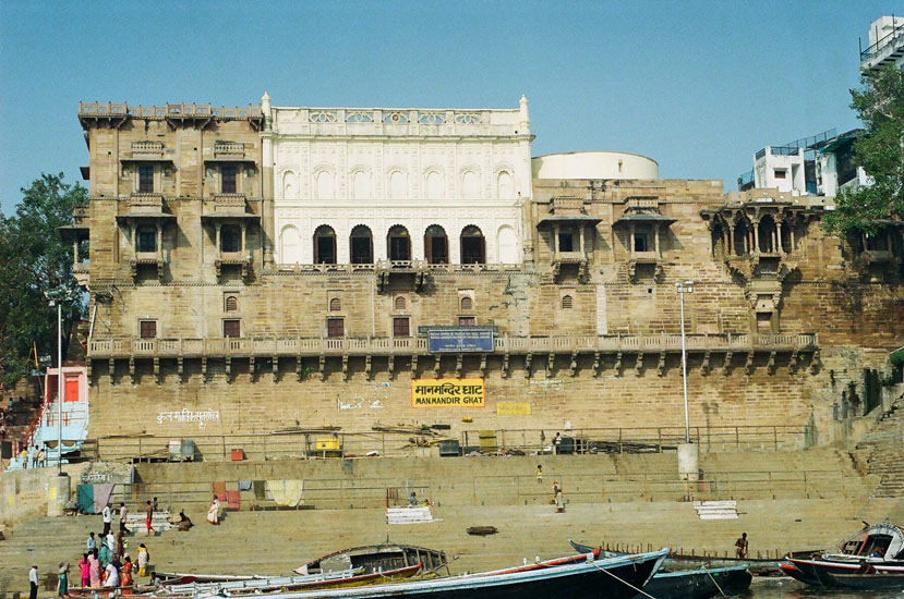 You see ManMandir Ghat – Raja Man Singh Jaipur.