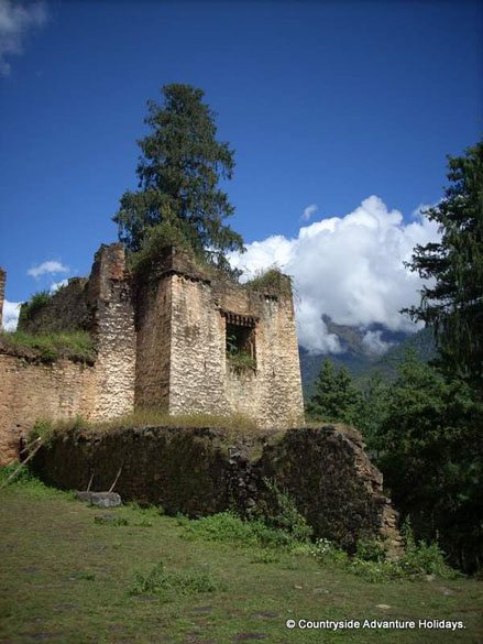 A castle in Shana. If you like to take the trek mail Countryside at info@countrysideindia.com