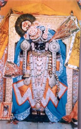 Swamayam (himself) Sri Krishna Bhagwan prakat hai ie this is the Lord himself being seen. In him Mirabai, Narsi Mehta and Bhakti Bodana merged.