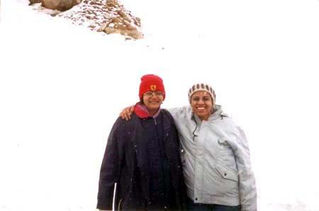 At Khardung-la Pass.