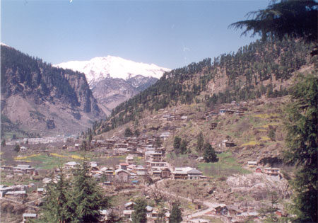 A Valley in Manali.