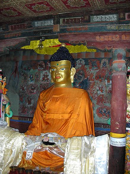 The SAKHYAMUNI BUDDHA