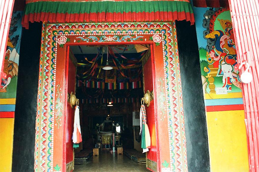 Entrance to the Main Monastry.