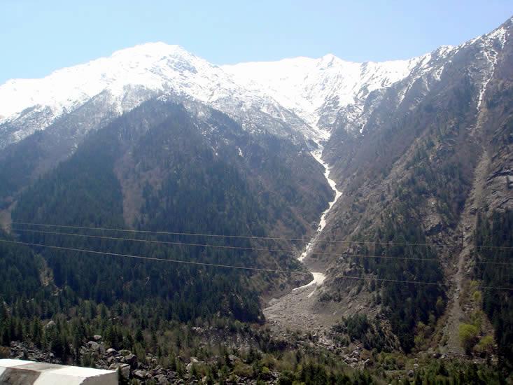 Snow Peaks at Chitkul