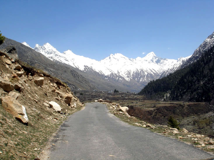Enroute to Chitkul 2