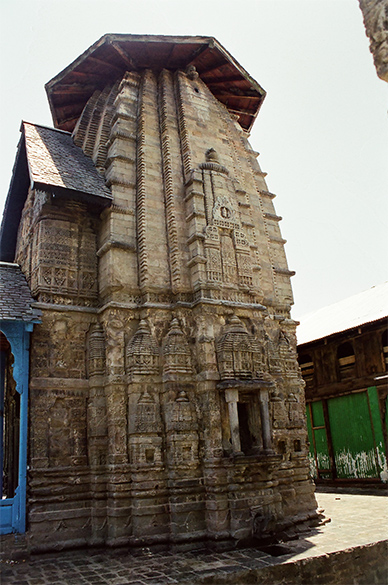 Side picture of Gaurishanker Temple.