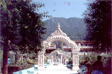 Main Entrance to the Ashram