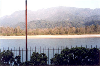 Across the Ganga is the Rajaji National Park