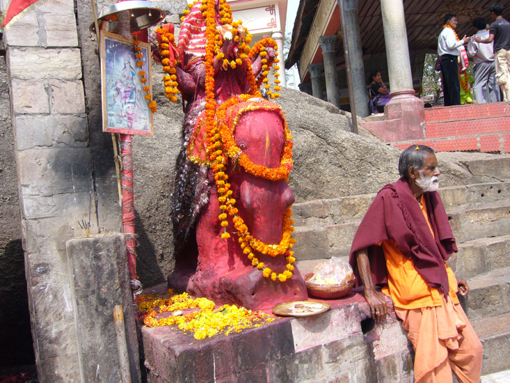 Inside the temple. Essentially, the Goddess ``Kamakhya`` is believed to be the granter of desires. In traditional terms, Assam is known as ``Kamarupa Desa``, a place that is associated with Tantric practices and worship of Shakti.