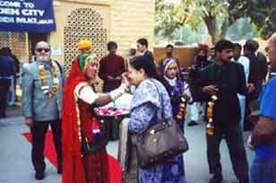 Welcome at Jaisalmer station