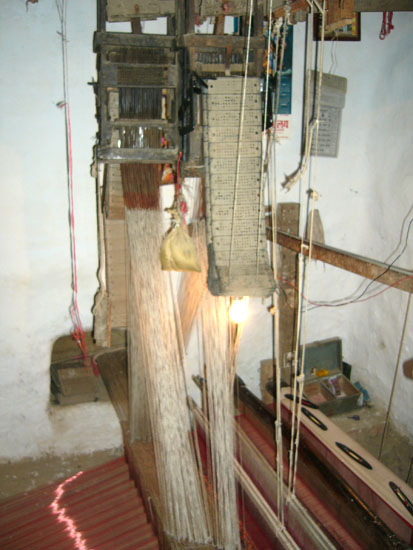Another picture of the loom.