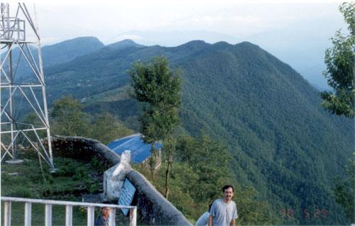 Another view atop Sarangkot.