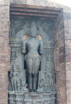 Surya Devata (Sun God).